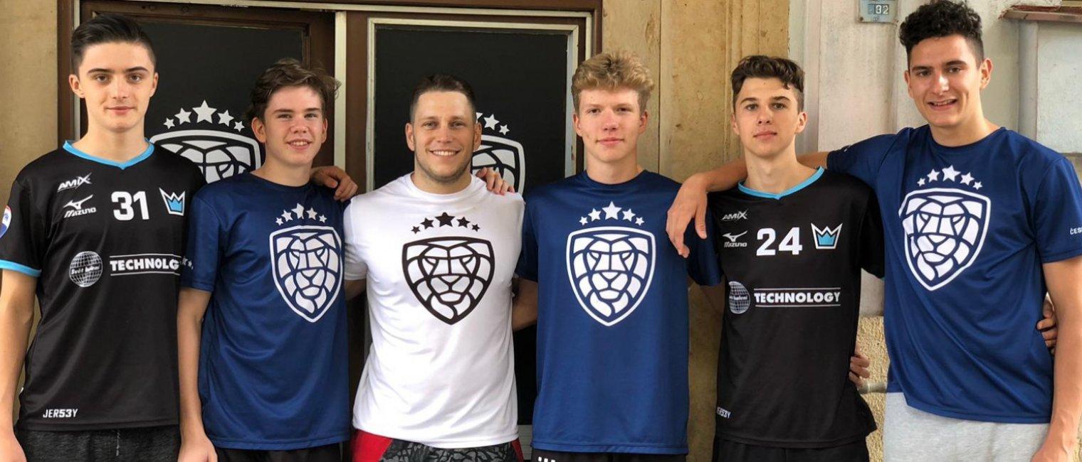 Kemp talentované mládeže v Jičíně absolvovalo pět hráčů