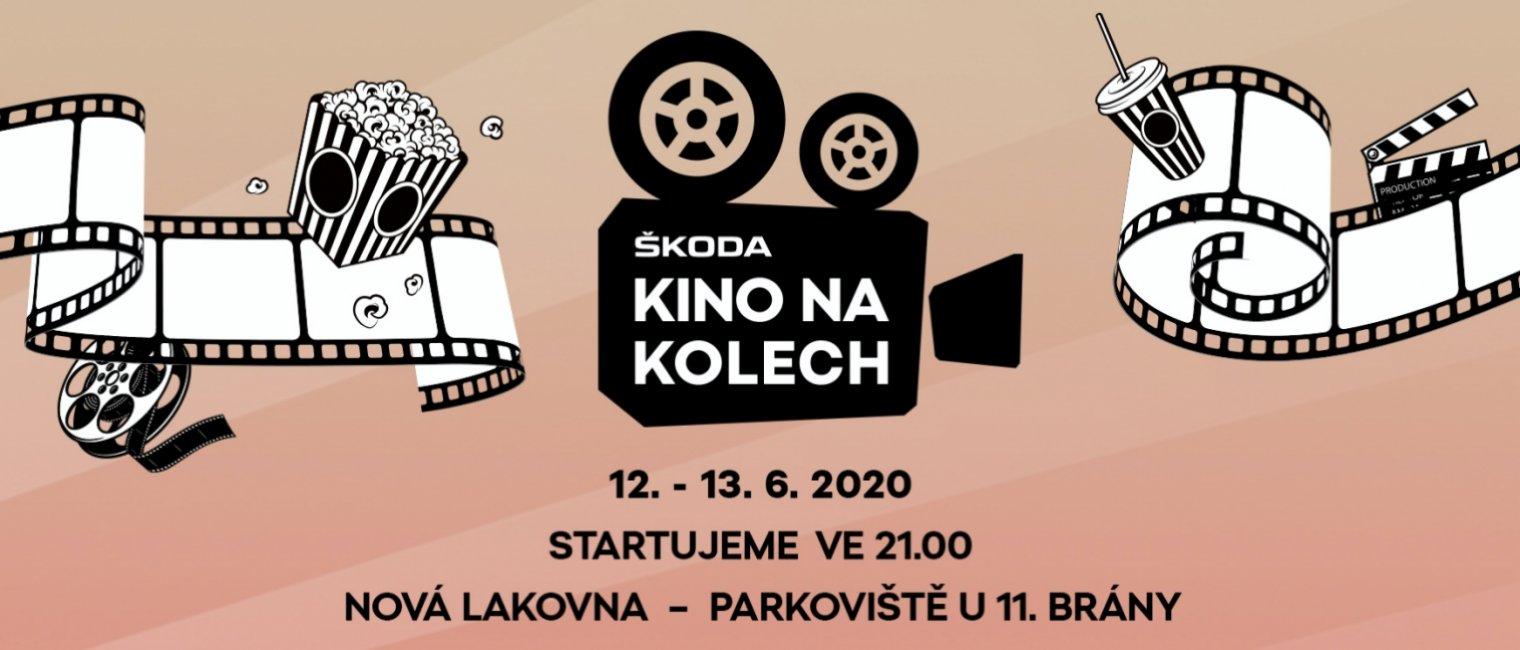 Největší filmová projekce v Česku! ŠKODA Kino na kolech