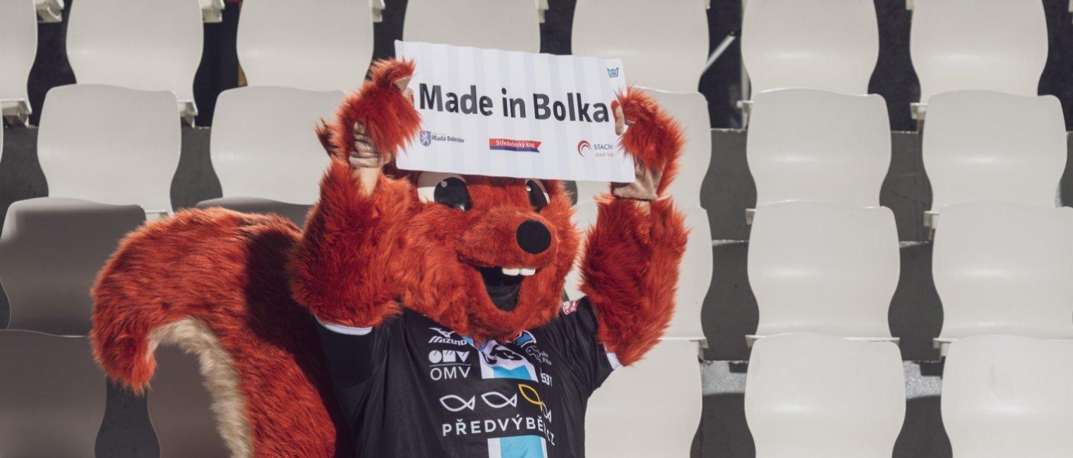 Veverka Štěpánka si přeje florbalový titul