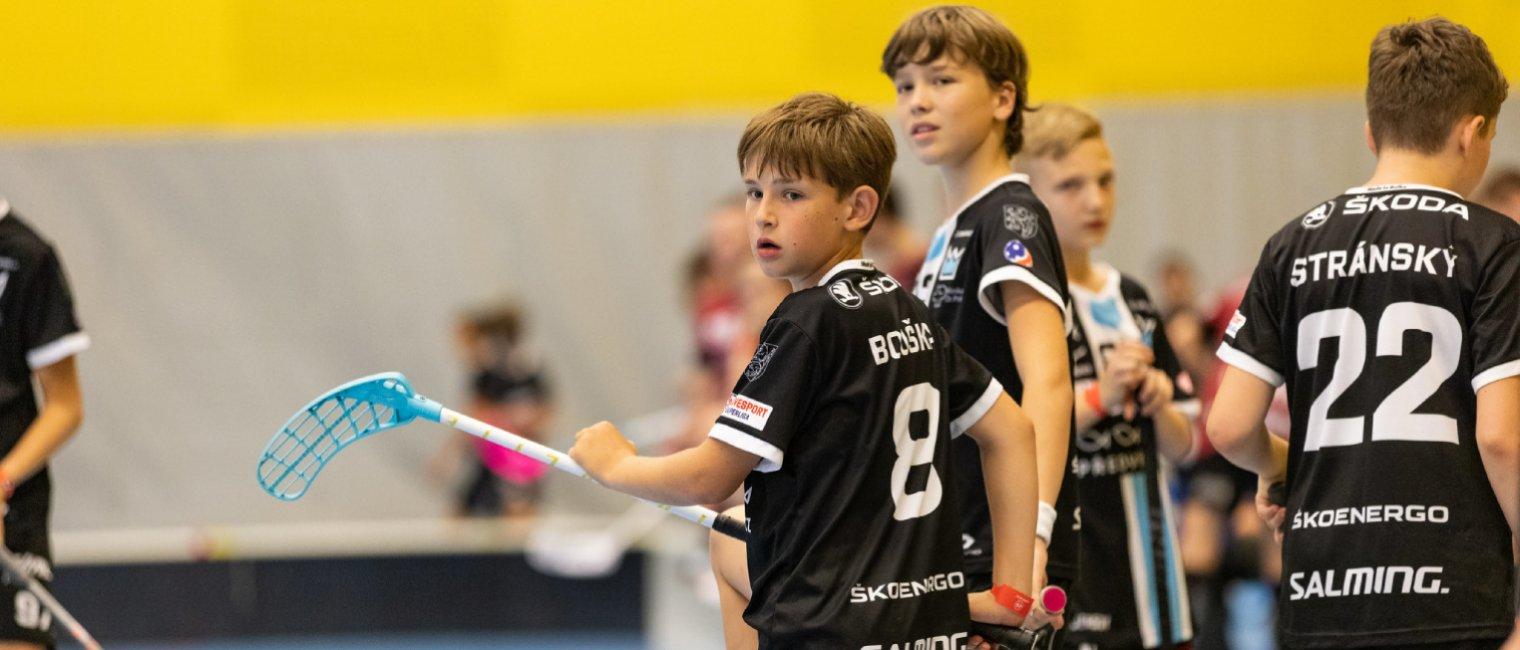 Salming Cup 2021: Stříbro pro starší žáky i elévy, bronz juniorů